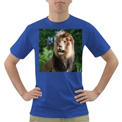 Regal Lion Men s T-shirt (Colored)