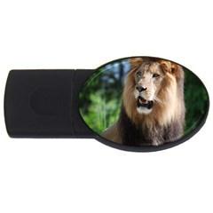Regal Lion 4GB USB Flash Drive (Oval)