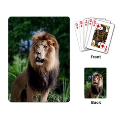 Regal Lion Playing Cards Single Design