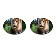 Regal Lion Cufflinks (Oval)