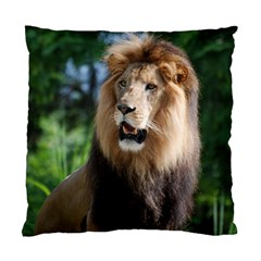 Regal Lion Cushion Case (Two Sided)
