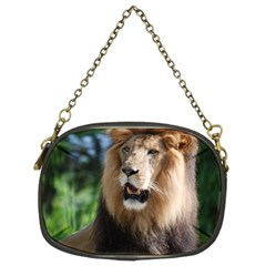 Regal Lion Chain Purse (two Sided)