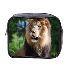Regal Lion Mini Travel Toiletry Bag (two Sides)