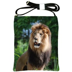 Regal Lion Shoulder Sling Bag