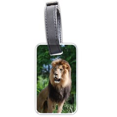 Regal Lion Luggage Tag (Two Sides)
