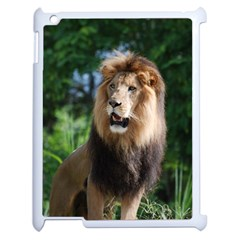 Regal Lion Apple iPad 2 Case (White)