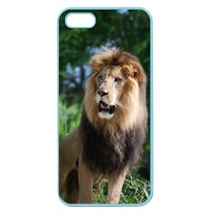 Regal Lion Apple Seamless iPhone 5 Case (Color)