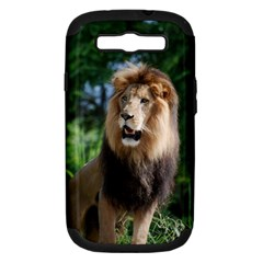 Regal Lion Samsung Galaxy S Iii Hardshell Case (pc+silicone)