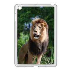 Regal Lion Apple iPad Mini Case (White)