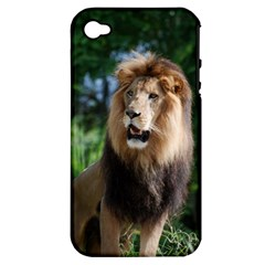 Regal Lion Apple iPhone 4/4S Hardshell Case (PC+Silicone)