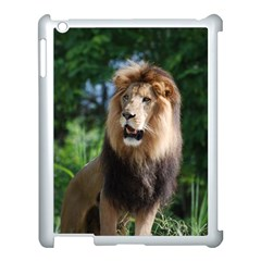Regal Lion Apple iPad 3/4 Case (White)