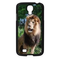 Regal Lion Samsung Galaxy S4 I9500/ I9505 Case (Black)