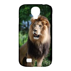 Regal Lion Samsung Galaxy S4 Classic Hardshell Case (PC+Silicone)