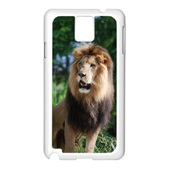 Regal Lion Samsung Galaxy Note 3 N9005 Case (white)