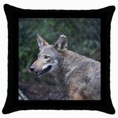 Shdsc 0417 10502cow Black Throw Pillow Case