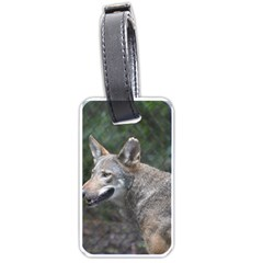 Shdsc 0417 10502cow Luggage Tag (Two Sides)