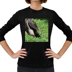 Giant Anteater Women s Long Sleeve T-shirt (Dark Colored)