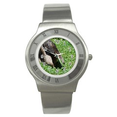 Giant Anteater Stainless Steel Watch (Slim)
