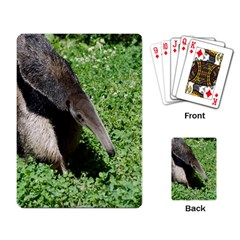 Giant Anteater Playing Cards Single Design
