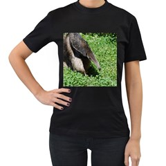 Giant Anteater Women s T-shirt (Black)
