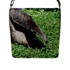 Giant Anteater Flap Closure Messenger Bag (Large)