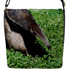 Giant Anteater Flap Closure Messenger Bag (Small)