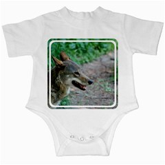 Red Wolf Infant Creeper