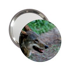 Red Wolf Handbag Mirror (2.25 )