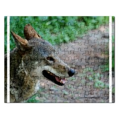 Red Wolf Jigsaw Puzzle (rectangle)
