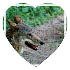 Red Wolf Jigsaw Puzzle (Heart)