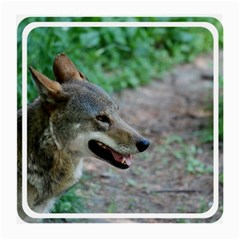 Red Wolf Glasses Cloth (Medium, Two Sided)