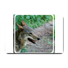 Red Wolf Small Door Mat