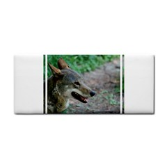 Red Wolf Hand Towel