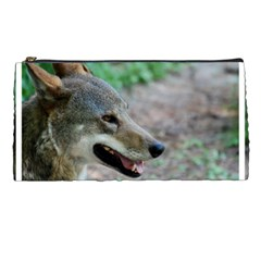 Red Wolf Pencil Case