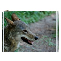 Red Wolf Cosmetic Bag (XXL)