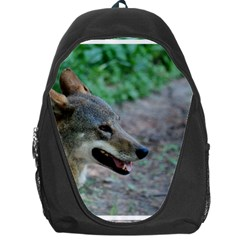 Red Wolf Backpack Bag