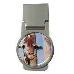 Cute Giraffe Money Clip (Round)