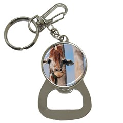 Cute Giraffe Bottle Opener Key Chain