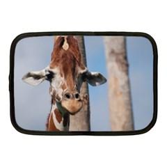 Cute Giraffe Netbook Sleeve (medium)
