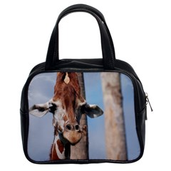 Cute Giraffe Classic Handbag (Two Sides)