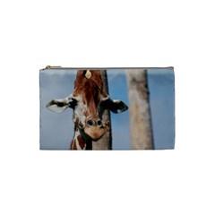 Cute Giraffe Cosmetic Bag (Small)
