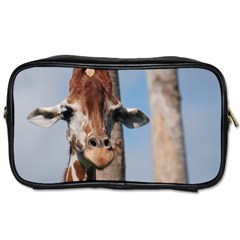 Cute Giraffe Travel Toiletry Bag (Two Sides)