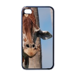 Cute Giraffe Apple Iphone 4 Case (black)
