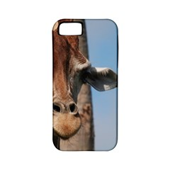 Cute Giraffe Apple Iphone 5 Classic Hardshell Case (pc+silicone)