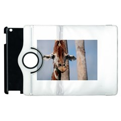Cute Giraffe Apple iPad 2 Flip 360 Case