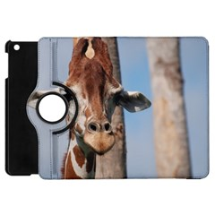 Cute Giraffe Apple iPad Mini Flip 360 Case