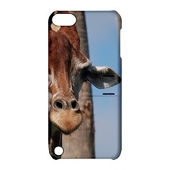 Cute Giraffe Apple Ipod Touch 5 Hardshell Case With Stand