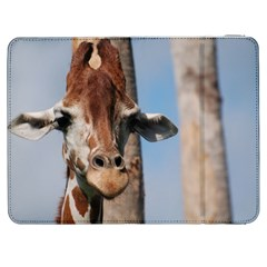 Cute Giraffe Samsung Galaxy Tab 7  P1000 Flip Case