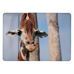 Cute Giraffe Samsung Galaxy Tab 10.1  P7500 Flip Case