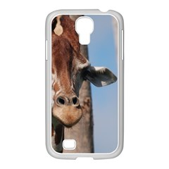 Cute Giraffe Samsung GALAXY S4 I9500/ I9505 Case (White)